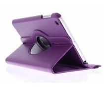 Paars 360° draaibare hoes iPad Mini / 2 / 3