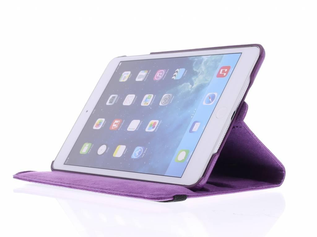 Violet 360 ° Pivotant Cas De Comprimés À Pois Pour Ipad Mini-4 oNJ61jiD