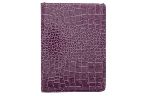 iPad Air hoesje - 360° draaibare krokodil tablethoes
