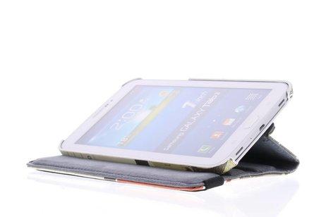 Samsung Galaxy Tab 3 7.0 hoesje - London design 360° draaibare
