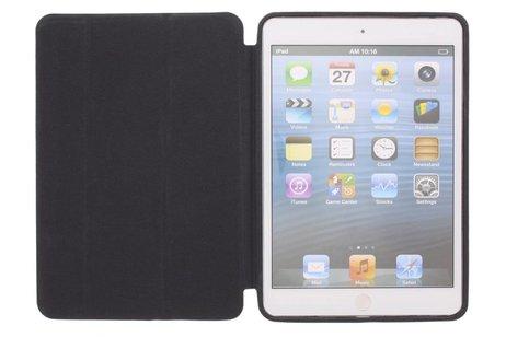 Zwarte luxe Book Cover voor de iPad Mini / 2 / 3