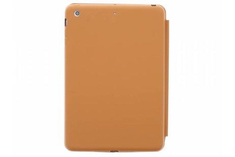 Bruine luxe Book Cover voor de iPad Mini / 2 / 3