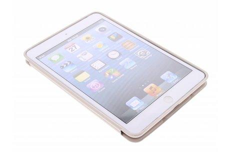 Beige luxe Book Cover voor de iPad Mini / 2 / 3