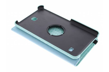 Samsung Galaxy Tab 4 7.0 hoesje - Lichtblauwe 360° draaibare krokodil