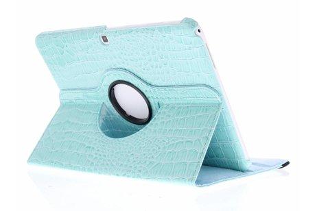 Samsung Galaxy Tab 4 10.1 hoesje - 360° draaibare krokodil tablethoes