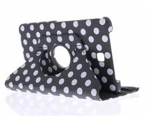 360° draaibare polka dot tablethoes Galaxy Tab 4 8.0
