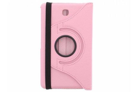 Samsung Galaxy Tab 4 7.0 hoesje - Roze 360° draaibare tablethoes