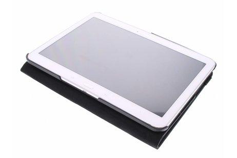 Samsung Galaxy Tab 4 10.1 hoesje - Zwarte 360° draaibare tablethoes