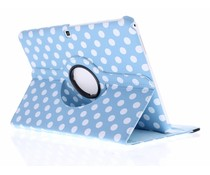 360° draaibare polka dot tablethoes Galaxy Tab 4 10.1
