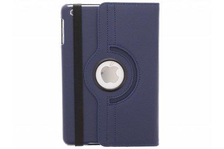 Blauwe 360° draaibare tablethoes voor de iPad Mini / 2 / 3