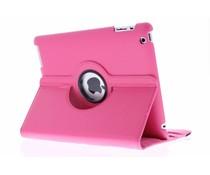 Fuchsia 360° draaibare hoes iPad 2 / 3 / 4