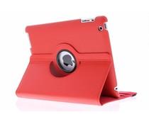 Rood 360° draaibare hoes iPad 2 / 3 / 4