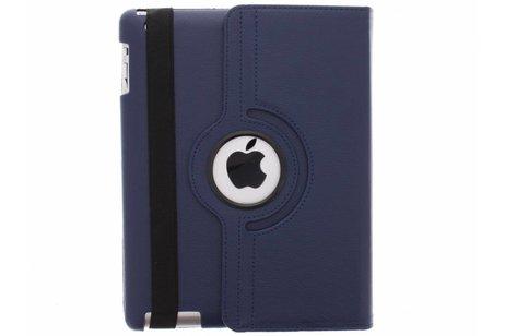 Blauwe 360° draaibare hoes voor de iPad 2 / 3 / 4