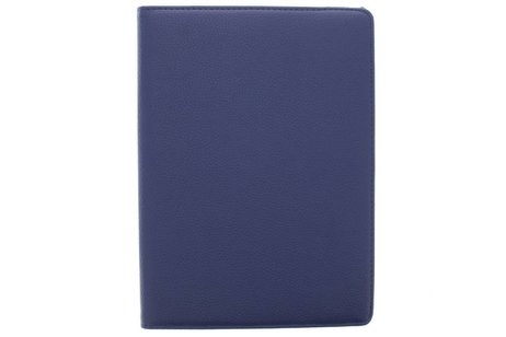 iPad Air hoesje - Blauwe 360° draaibare tablethoes