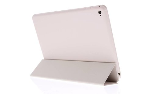 iPad Air 2 hoesje - Beige luxe Book Cover