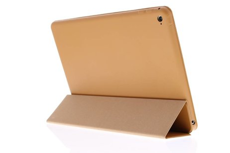iPad Air 2 hoesje - Bruine luxe Book Cover