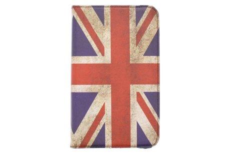 Samsung Galaxy Tab 3 8.0 hoesje - 360° draaibare Britse vlag