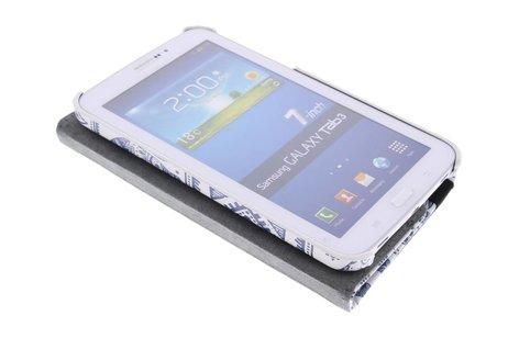 Samsung Galaxy Tab 3 7.0 hoesje - 360° draaibare olifanten design