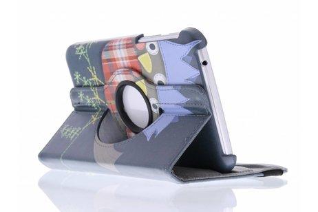 Samsung Galaxy Tab 3 7.0 hoesje - 360° draaibare vogel design