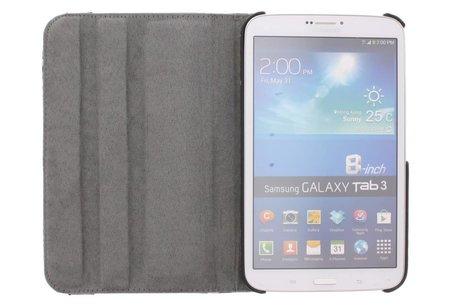 Samsung Galaxy Tab 3 8.0 hoesje - 360° draaibare bloemen design