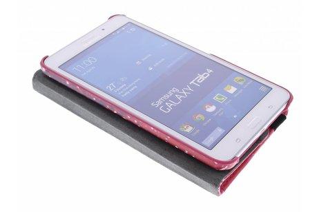 Samsung Galaxy Tab 4 7.0 hoesje - 360° draaibare Keep Calm