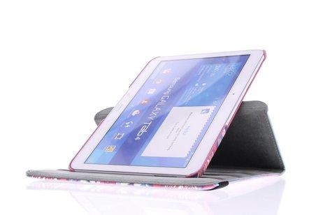 Samsung Galaxy Tab 4 10.1 hoesje - 360° draaibare aztec design