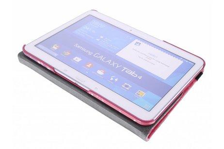 Samsung Galaxy Tab 4 10.1 hoesje - 360° draaibare design tablethoes