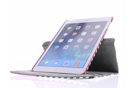 iPad Air hoesje - 360° draaibare chevron design