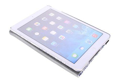 iPad Air hoesje - 360° draaibare olifanten design