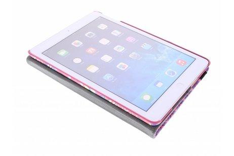 iPad Air hoesje - 360° draaibare aztec design