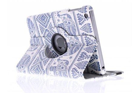 360º draaibare olifanten design tablethoes voor de iPad Mini / 2 / 3
