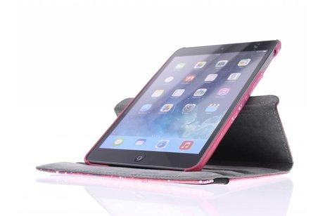 360º draaibare Keep Calm and Sparkle design tablethoes voor de iPad Mini / 2 / 3