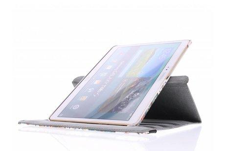 Samsung Galaxy Tab S 10.5 hoesje - 360° draaibare aztec design