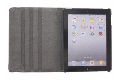 360° draaibare vogels design tablethoes voor de iPad 2 / 3 / 4
