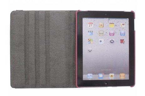 360° draaibare strepen design tablethoes voor de iPad 2 / 3 / 4