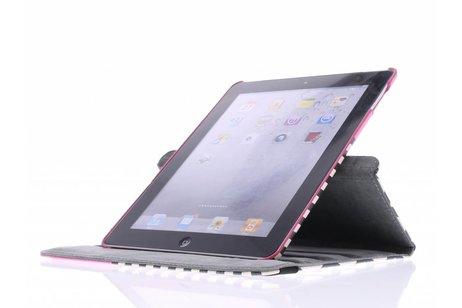360° draaibare chevron design tablethoes voor de iPad 2 / 3 / 4
