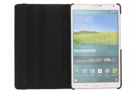 Samsung Galaxy Tab S 8.4 hoesje - 360º draaibare krokodil tablethoes