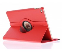 Rood 360° draaibare tablethoes iPad Air 2