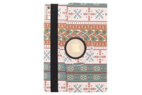 iPad Air 2 hoesje - 360° draaibare aztec design