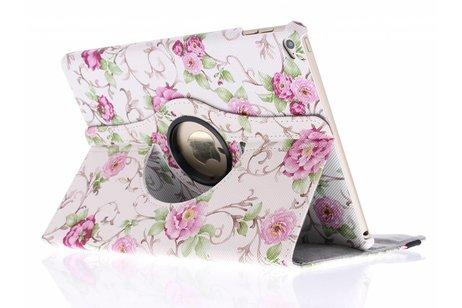 iPad Air 2 hoesje - 360° draaibare rozen design