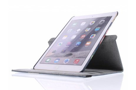 iPad Air 2 hoesje - 360° draaibare vogel design