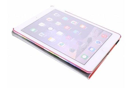 iPad Air 2 hoesje - 360° draaibare strepen design