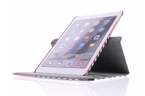 iPad Air 2 hoesje - 360° draaibare chevron design