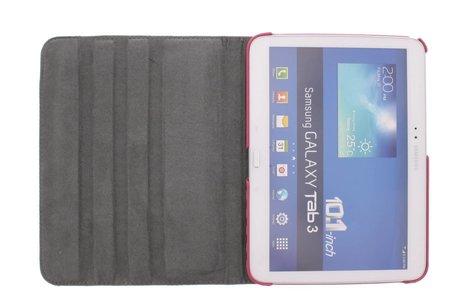 Samsung Galaxy Tab 3 10.1 hoesje - 360º draaibare chevron design
