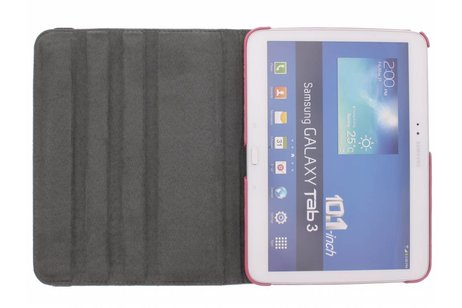 Samsung Galaxy Tab 3 10.1 hoesje - 360º draaibare aztec design