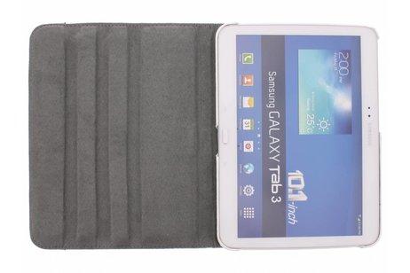 Samsung Galaxy Tab 3 10.1 hoesje - 360º draaibare olifanten design