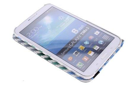 Samsung Galaxy Tab 3 8.0 hoesje - 360° draaibare anker design