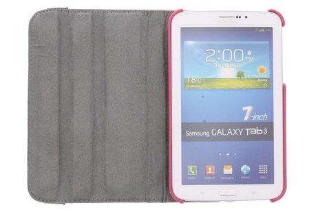 Samsung Galaxy Tab 3 7.0 hoesje - 360° draaibare strepen design