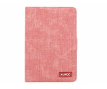 Fuchsia katoenen TPU tablethoes iPad Mini / 2 / 3