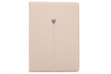 iPad Air hoesje - Beige premium TPU tablethoes